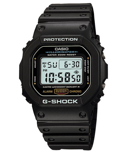 Часы Casio G-SHOCK DW-5600E-1VDF